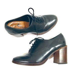 Patricia Nash | Mara Lace Up Block Heel Shoes (7)
